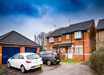 Thumbnail 3 bed semi-detached house for sale in Hartland Drive, Market Harborough