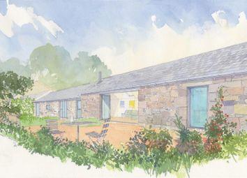 Coswinsawsin Lane, Carnhell Green, Camborne TR14. 3 bed barn conversion for sale