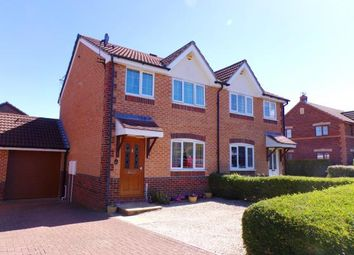 Thumbnail 3 bed semi-detached house for sale in Wick St. Lawrence, Weston-Super-Mare, Somerset