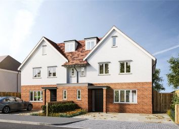 Thumbnail 4 bedroom semi-detached house for sale in Herkomer Road, Bushey, Hertfordshire