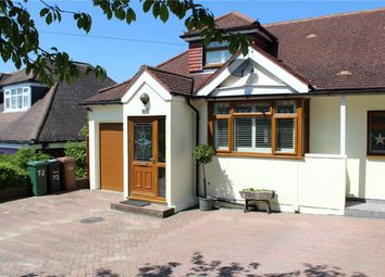 Thumbnail 3 bed semi-detached house for sale in Roundwood Way, Banstead, Surrey