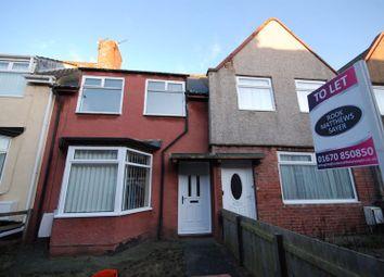 3 bed terraced house to rent in Juliet Street, Ashington NE63