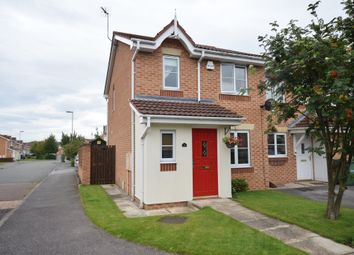 Thumbnail 3 bed town house for sale in Hebble Way, South Elmsall, Pontefract
