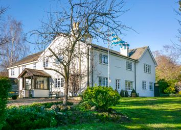 Thumbnail 5 bed farmhouse for sale in North Road, Hertford