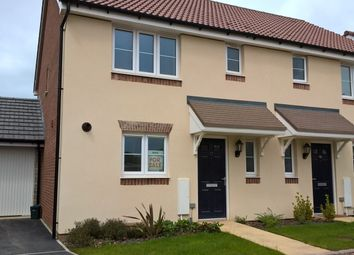 Thumbnail 3 bedroom semi-detached house for sale in Fulmer Copse, Chivenor, Braunton, Devon