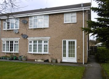 Thumbnail 2 bed flat for sale in 11 Lodge Close, Duffield, Belper, Derbyshire