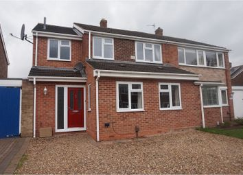 Thumbnail 3 bed semi-detached house for sale in Ash Grove, Lichfield