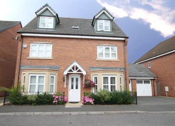 Thumbnail 5 bed detached house for sale in Harrow Place, Knighton, Leicester