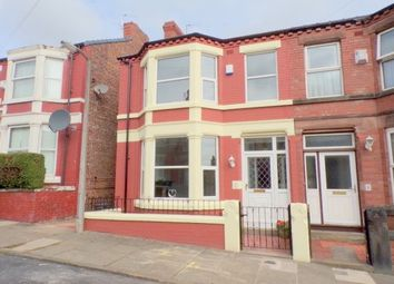 Thumbnail 3 bedroom property to rent in Clive Road, Prenton