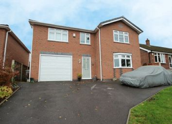 Thumbnail 4 bed detached house for sale in Station Road, Scholar Green, Stoke-On-Trent