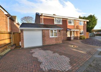 Thumbnail 6 bed detached house for sale in St John's Road, Mortimer Common, Reading