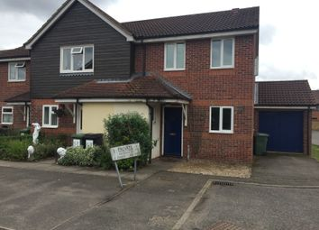 Thumbnail 3 bedroom end terrace house to rent in Farrow Close, Mattishall