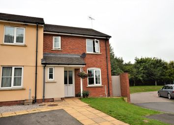 Thumbnail 3 bed end terrace house for sale in Hedge Row Close, Copplestone, Crediton, Devon