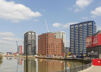 Thumbnail 1 bed flat for sale in Faraday Building, City Island, Canning Town
