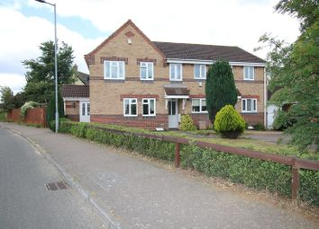 Thumbnail 3 bed end terrace house for sale in Blackthorn Road, Attleborough