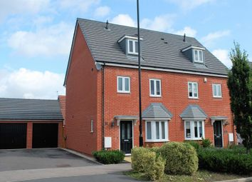 Thumbnail 4 bed semi-detached house for sale in Astoria Drive, Bannerbrook Park, Coventry
