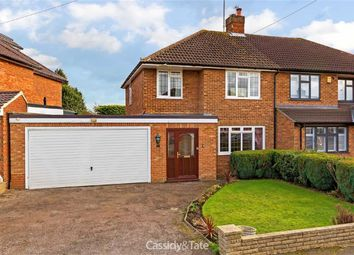 Thumbnail 3 bed semi-detached house for sale in Cuckmans Drive, St Albans, Hertfordshire