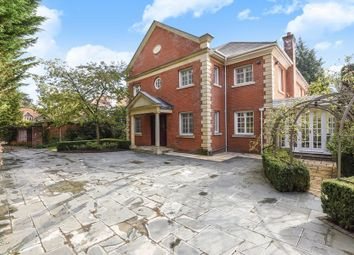 Thumbnail 6 bed detached house to rent in Cross Road, Sunningdale, Ascot