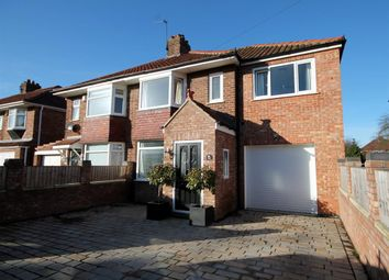 Thumbnail 3 bed semi-detached house for sale in Melton Avenue, York