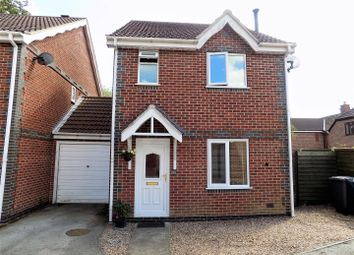 Thumbnail 3 bedroom link-detached house for sale in Woodland Spinney, Flintham, Newark