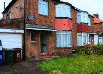 Thumbnail 3 bedroom property to rent in Powburn Gardens, Fenham, Newcastle Upon Tyne