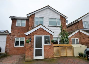 Thumbnail 4 bedroom detached house for sale in Meadway, Bugbrooke, Northampton