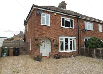 Thumbnail 3 bed semi-detached house for sale in Ferry Road, Clenchwarton, King's Lynn