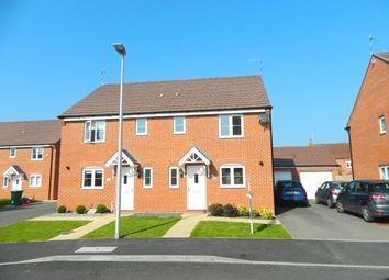 Thumbnail 3 bed semi-detached house for sale in Yeats Drive, Chase Meadow, Warwick, Warwickshire
