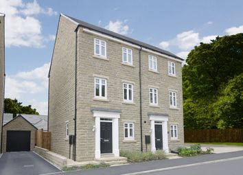 "Thumbnail 3 bed terraced house for sale in ""Cannington"" at Wakefield Road, Lightcliffe, Halifax"