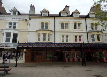 Thumbnail 1 bed flat to rent in Mostyn Street, Llandudno