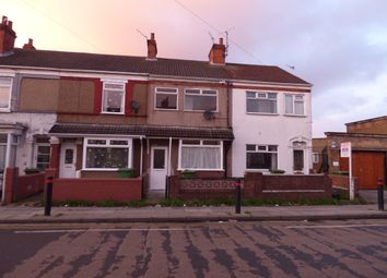 Thumbnail 2 bed terraced house to rent in Durban Road, Grimsby