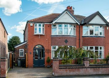 Thumbnail 3 bed semi-detached house for sale in Brookfield Drive, Timperley, Altrincham