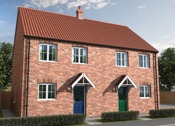 Thumbnail 3 bedroom end terrace house for sale in Curtis Drive, Coningsby, Lincolnshire