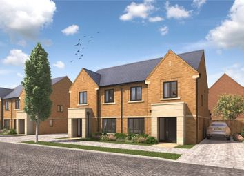 Thumbnail 4 bed semi-detached house for sale in Imber Riverside, Orchard Lane, East Molesey, Surrey