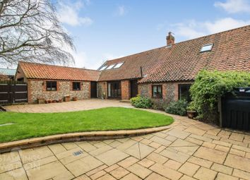 Thumbnail 4 bed barn conversion for sale in Chapel Road, East Ruston, Norwich