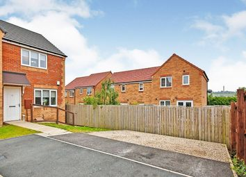 Thumbnail 2 bed semi-detached house for sale in Dewhirst Close, Leadgate, Consett