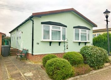 Thumbnail 2 bed mobile/park home for sale in Clifton Park, New Road, Clifton, Shefford