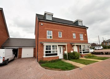 Thumbnail 4 bed town house to rent in Bamber Close, West End, Southampton