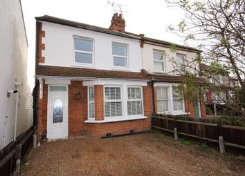 Thumbnail 2 bed semi-detached house for sale in Caulfield Road, Shoeburyness, Southend-On-Sea