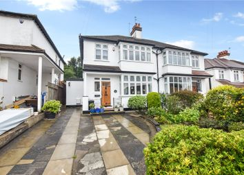 Thumbnail 3 bed semi-detached house for sale in Parkhill Road, Bexley Village, Kent