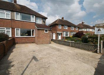 Thumbnail 3 bed end terrace house for sale in Elgin Avenue, Ashford, Surrey