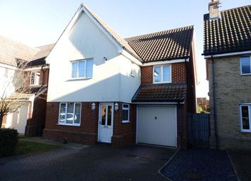 Thumbnail 4 bedroom detached house for sale in Foxley Close, Ipswich