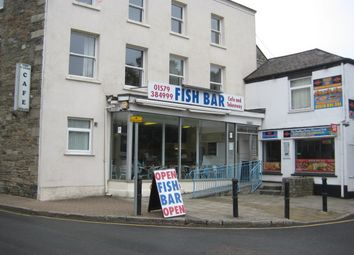 Thumbnail Restaurant/cafe for sale in 30 Fore Street, Callington