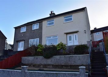 Thumbnail 2 bed semi-detached house for sale in 19, Cupar Drive, Greenock, Renfrewshire