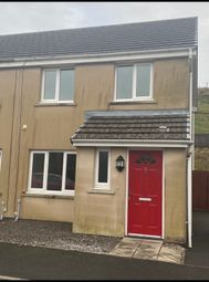 Thumbnail 3 bed semi-detached house to rent in Heol Llwyn, Llangeinor Bridgend