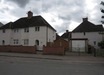 Thumbnail 3 bed semi-detached house for sale in Rancliffe Crescent, Leicester
