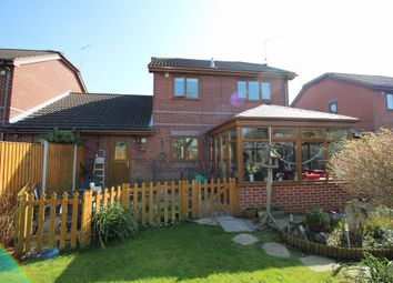 Thumbnail 4 bed link-detached house for sale in Meadow View, Brundall, Norwich