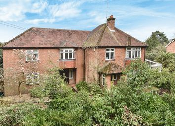 Thumbnail 5 bed detached house for sale in Frensham Road, Lower Bourne, Farnham, Surrey