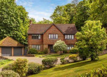 Thumbnail 4 bed detached house for sale in Woodrough Copse, Bramley, Guildford, Surrey