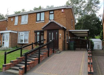 Thumbnail 2 bedroom semi-detached house for sale in Warren Close, Tipton